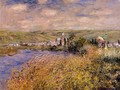 Vetheuil Seen From Ile Saint Martin - Claude Oscar Monet