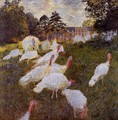 Turkeys - Claude Oscar Monet