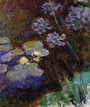 Water Lilies And Agapanthus59 - Claude Oscar Monet