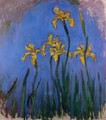 Yellow Irises2 - Claude Oscar Monet