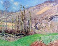 Winter Landscape At The Val De Falaise - Claude Oscar Monet
