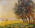 Willows At Sunset - Claude Oscar Monet