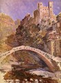 The Castle At Dolceacqua - Claude Oscar Monet
