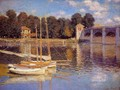 The Bridge At Argenteuil - Claude Oscar Monet