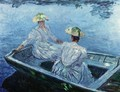 The Blue Row Boat - Claude Oscar Monet