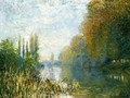 The Banks Of The Seine In Autumn - Claude Oscar Monet