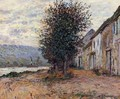 The Banks Of The Seine At (Claude Oscar Monet 1878) - Claude Oscar Monet