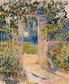 The Garden Gate - Claude Oscar Monet