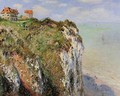 The Cliff At Dieppe - Claude Oscar Monet