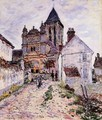 The Church At Vetheuil - Claude Oscar Monet
