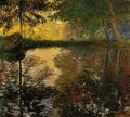 The Pond At Montgeron - Claude Oscar Monet