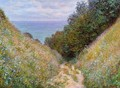 The Path At La Cavee Pourville - Claude Oscar Monet