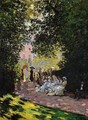 The Parc Monceau - Claude Oscar Monet