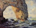 The Manneport Etretat - Claude Oscar Monet