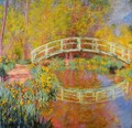 The Japanese Bridge At Giverny2 - Claude Oscar Monet