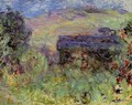 The House Seen Through The Roses - Claude Oscar Monet