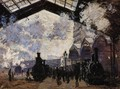 The Saint Lazare Station - Claude Oscar Monet