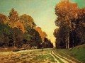 The Road From Chailly To Fontainebleau - Claude Oscar Monet
