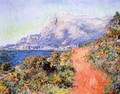The Red Road Near Menton - Claude Oscar Monet