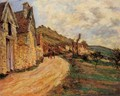 Les Roches At Falaise Near Giverny - Claude Oscar Monet