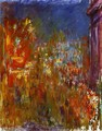 Leicester Square At Night - Claude Oscar Monet