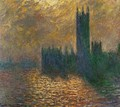 Houses Of Parliament Stormy Sky - Claude Oscar Monet