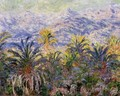 Palm Trees At Bordighera - Claude Oscar Monet