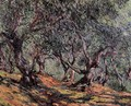Olive Trees In Bordighera - Claude Oscar Monet