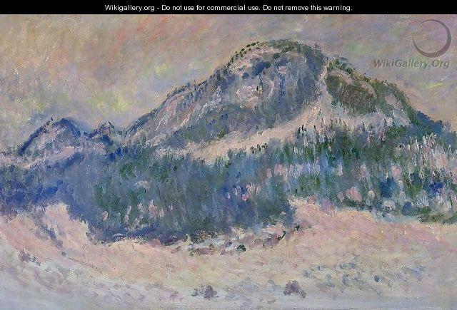 Mount Kolsaas Rose Reflection - Claude Oscar Monet