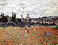 Poppies Near Vetheuil - Claude Oscar Monet