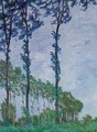 Poplars Wind Effect - Claude Oscar Monet