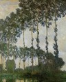 Poplars Near Giverny - Claude Oscar Monet