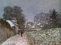 Snow At Argenteuil2 - Claude Oscar Monet