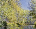 Bend In The River Epte - Claude Oscar Monet