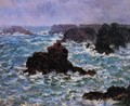 Belle Ile Rain Effect - Claude Oscar Monet