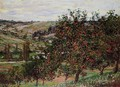 Apple Trees Near Vetheuil - Claude Oscar Monet