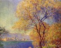 Antibes Seen From The Salis Gardens2 - Claude Oscar Monet