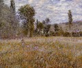 A Meadow - Claude Oscar Monet