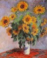 Bouquet Of Sunflowers - Claude Oscar Monet