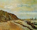 Boatyard Near Honfleur - Claude Oscar Monet