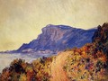 Coastal Road At Cap Martin Near Menton - Claude Oscar Monet