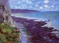 Cliff Near Dieppe - Claude Oscar Monet