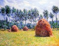 Haystacks At Giverny3 - Claude Oscar Monet