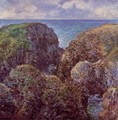 Group Of Rocks At Port Goulphar - Claude Oscar Monet
