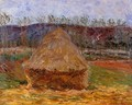 Grainstack At Giverny - Claude Oscar Monet