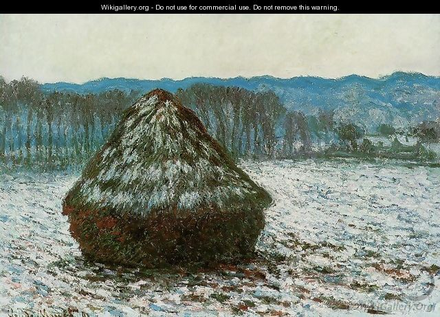 Grainstack - Claude Oscar Monet