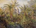 Garden In Bordighera Morning Effect - Claude Oscar Monet