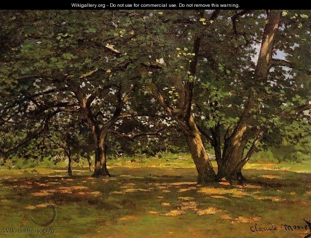 Fontainebleau Forest - Claude Oscar Monet