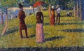 The Rope Colored Skirt - Georges Seurat