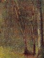In The Woods At Pontaubert - Georges Seurat